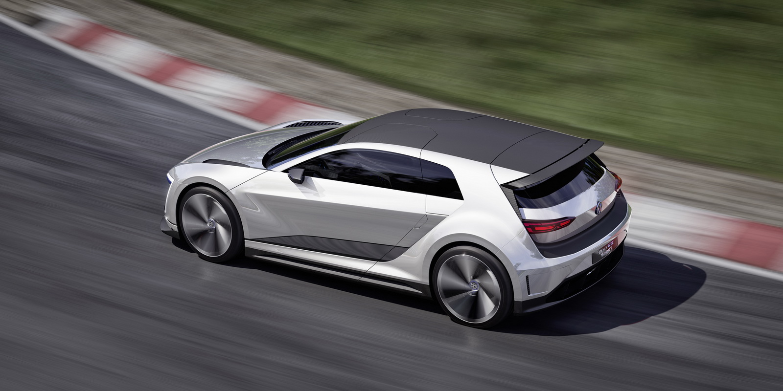 Volkswagen previews plug-in hybrid tech for future Golf GTI with Golf GTE Sport Concept ...