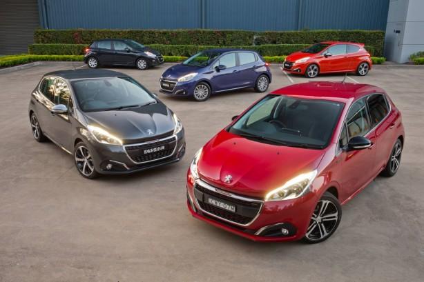 2015 Peugeot 208 range