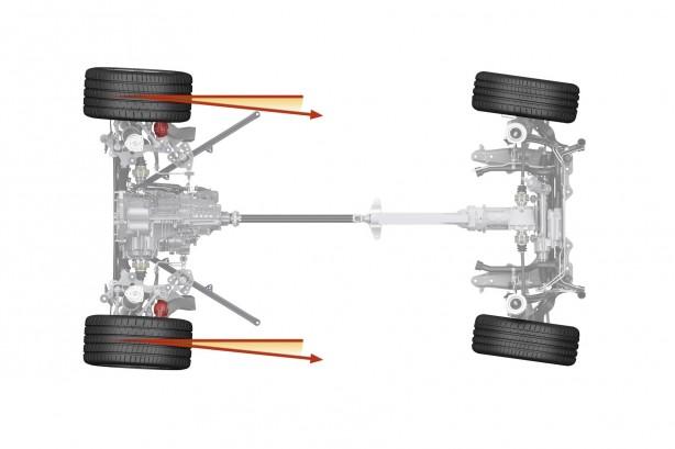 911 rear axle