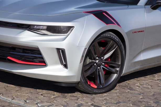Chevrolet Camaro Red Line Series concept front-2