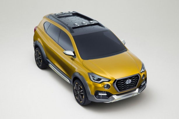 Datsun GO-cross Concept front quarter-1