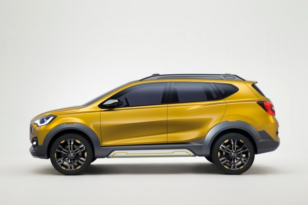 Datsun GO-cross Concept side