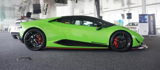 Lamborghini Huracan by RevoZport side