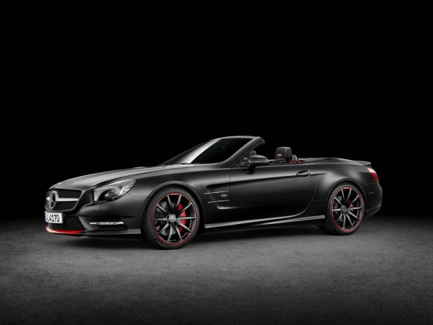 "Mercedes-Benz SL Special Edition ""Mille Miglia 417"" front quarter"