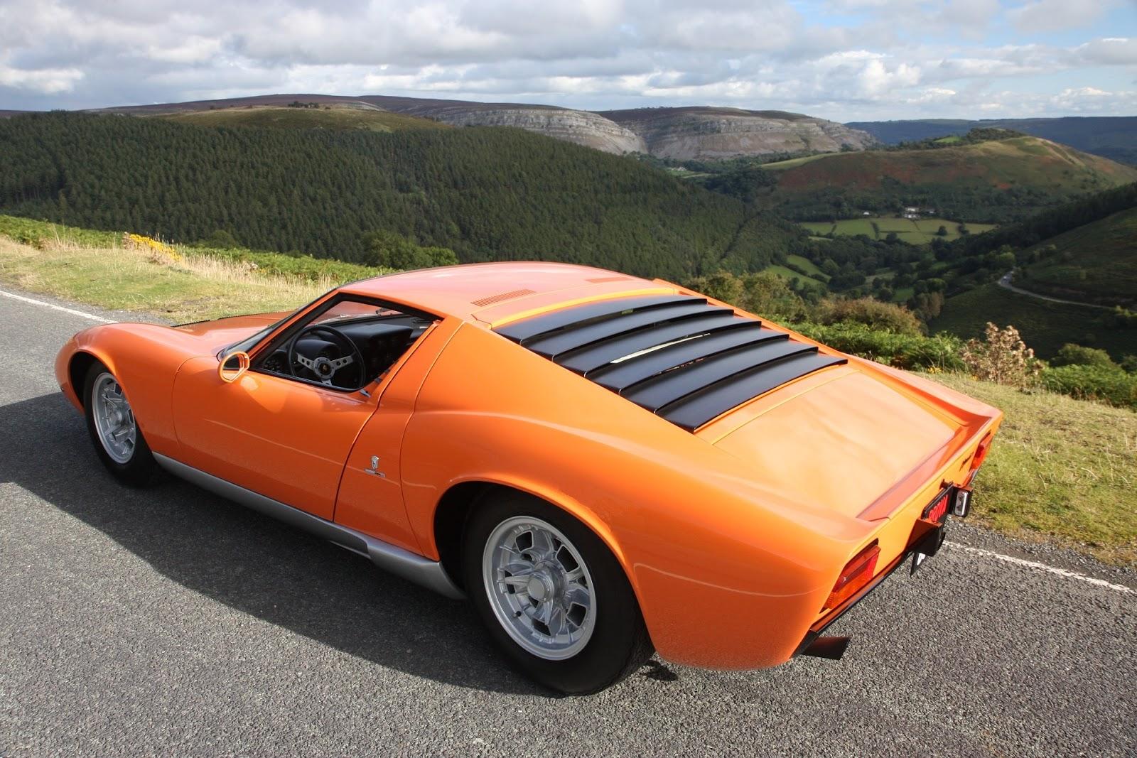 1968 Lamborghini Miura The Italian Job 6 Rear Left Forcegt Com