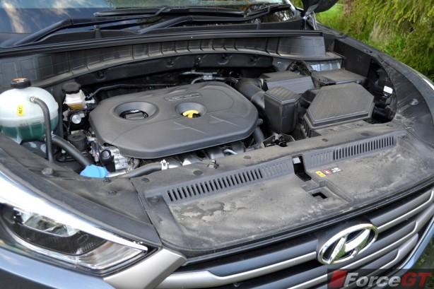2015 Hyundai Tucson ActiveX engine