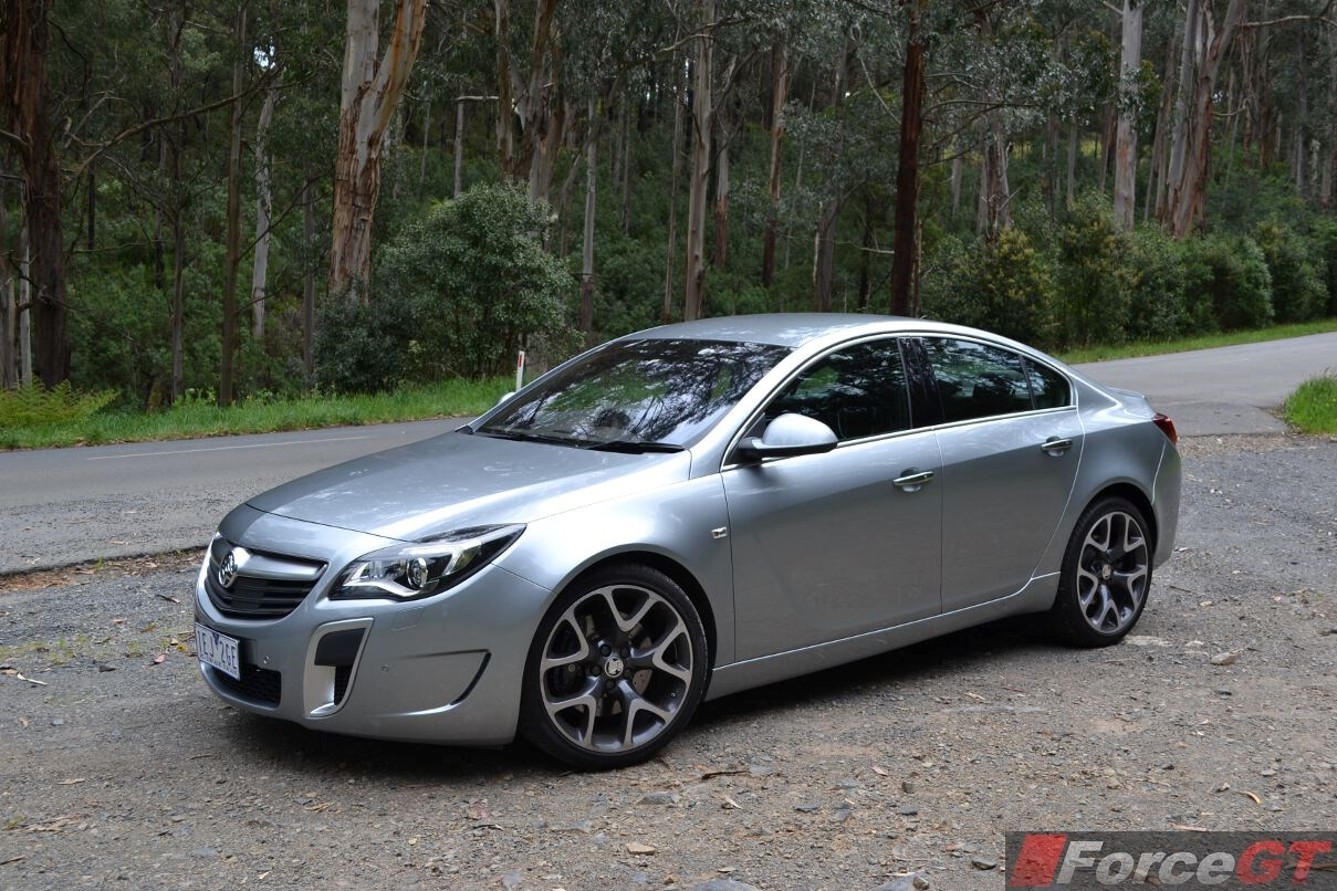 holden insignia review  insignia vxr