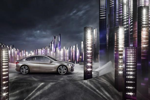 BMW Compact Sedan Concept side-1