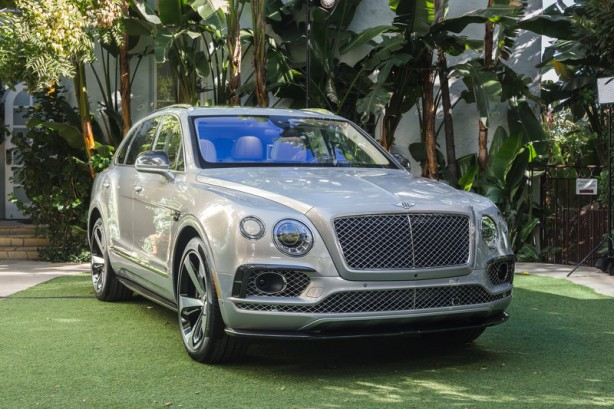 Bentley Bentayga First Edition front