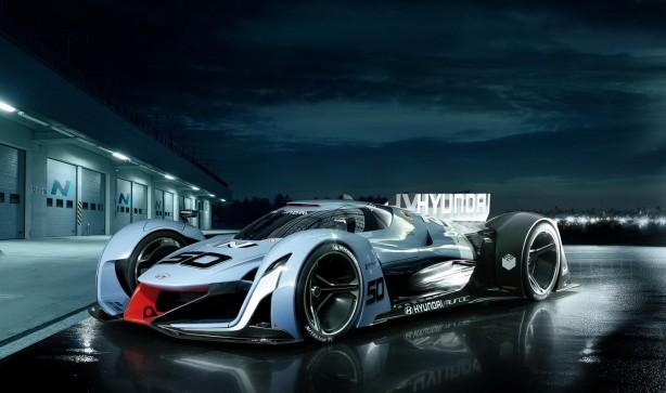 Hyundai 2025 Vision Gran Turismo Concept - Render