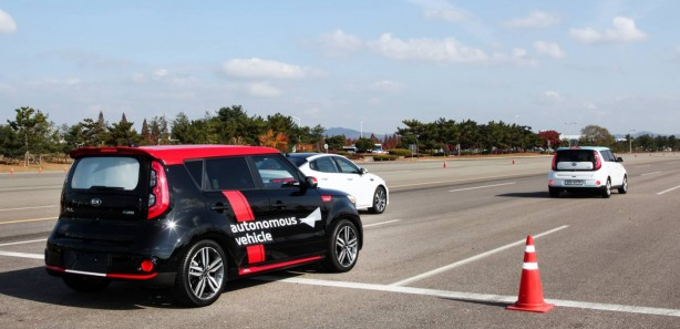 Kia Autonomous Vehicle Rear Rear Right 2