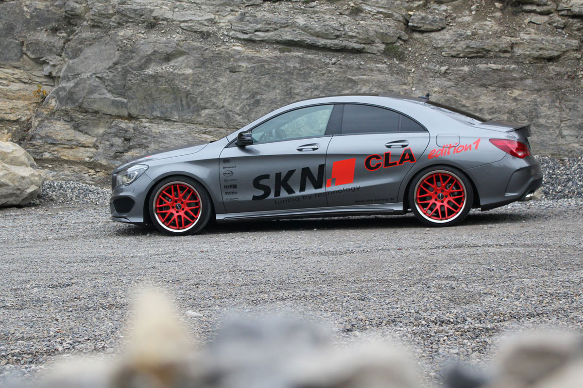 Skn Tuning Wrings 298kw From Mercedes Benz Cla 250 Forcegt Com