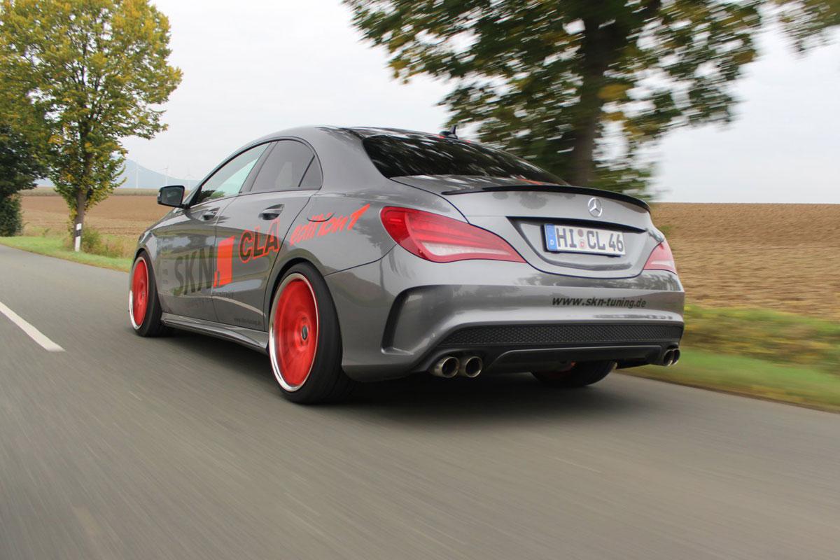 Mercedes Cla 400 Skn Tuning 7 Forcegt Com