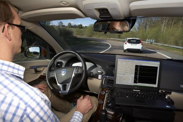 Volvo Autonomous Driving Testing