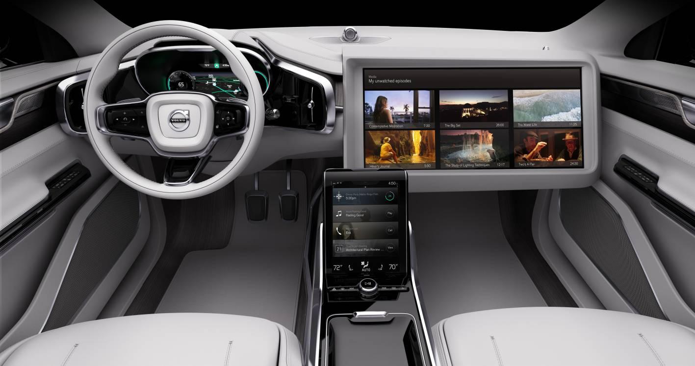 Volvo previews future autonomous cockpit with Concept 26 ...