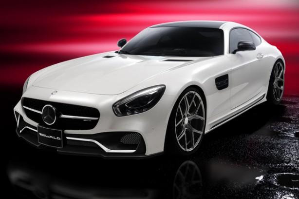 Wald 'Black Bison' Mercedes-AMG GT front quarter