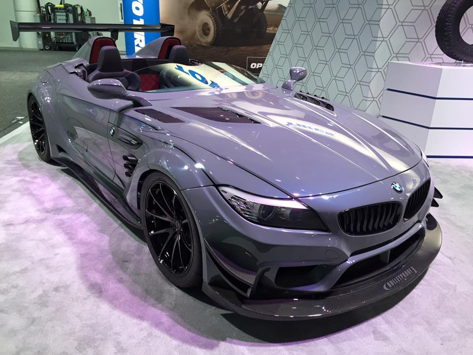 Bulletproof Automotive S Bmw Z4 Gt Continuum To Debut At Sema