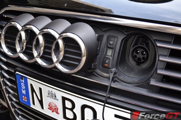 2015 Audi A3 e-tron Sportback charge socket