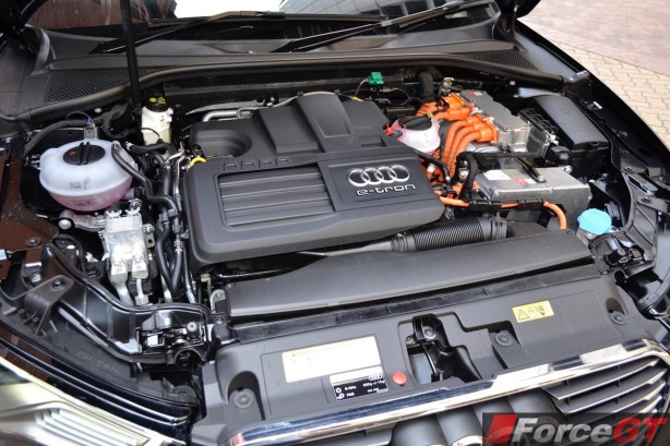 2015 Audi A3 e-tron Sportback hybrid engine