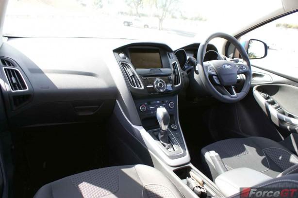 2015 Ford Focus Sport hatch Interior