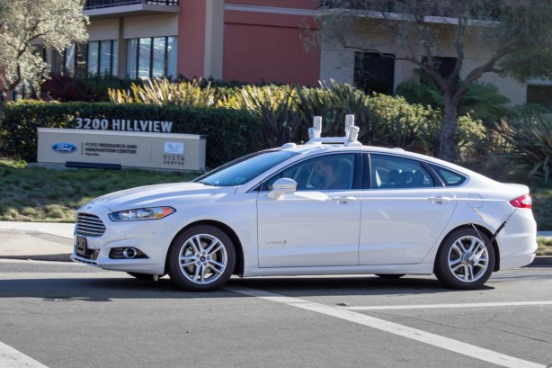 Ford-autonomous-vehicle-testing-california