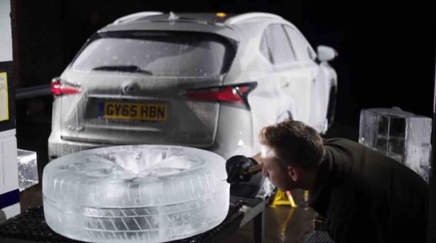 Lexus NX Ice wheels and tyres