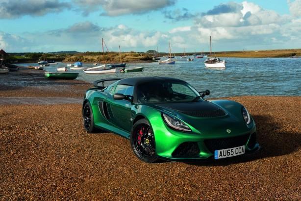 Lotus Exige Sport 350 front quarter