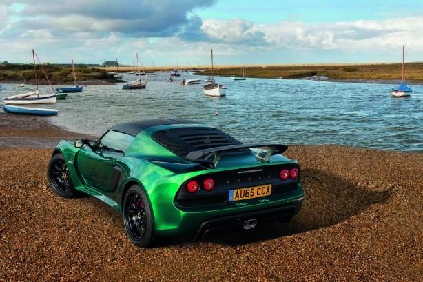 Lotus Exige Sport 350 rear quarter