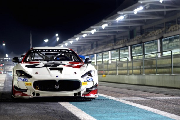 Maserati GranTurismo MC GT4 front