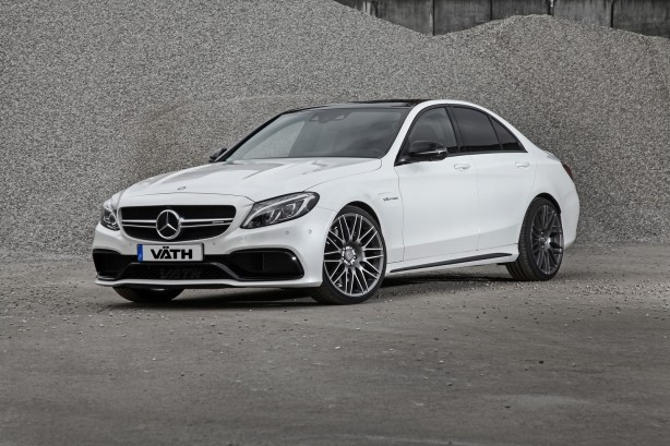 Vath tuned Mercedes-AMG C63 S front quarter-1