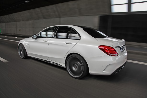 Vath tuned Mercedes-AMG C63 S side