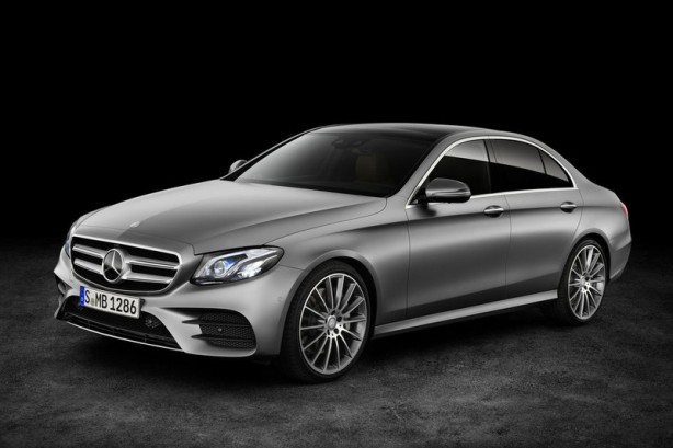 2016 Mercedes-Benz E-Class front quarter