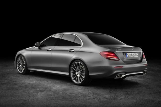 2016 Mercedes-Benz E-Class rear quarter