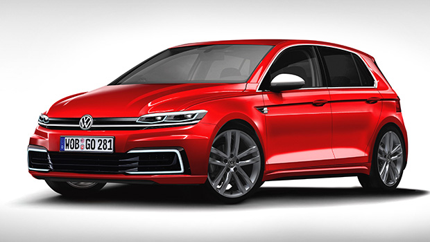 Volkswagen Cars 2017 Vw Mk8 Golf Could Look Like This