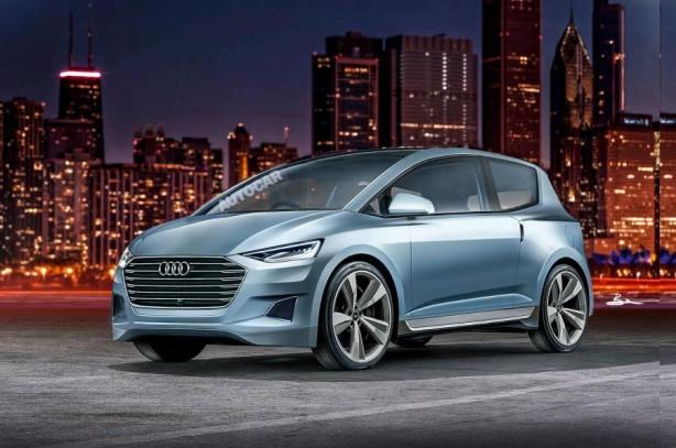 2019 Audi A2 rendering
