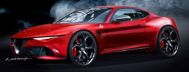 Alfa-Romeo-Giulia Coupe-Render