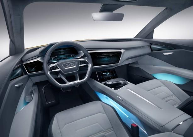 Audi h-tron quattro concept interior