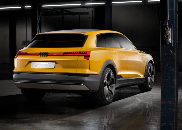 Audi h-tron quattro concept rear quarter