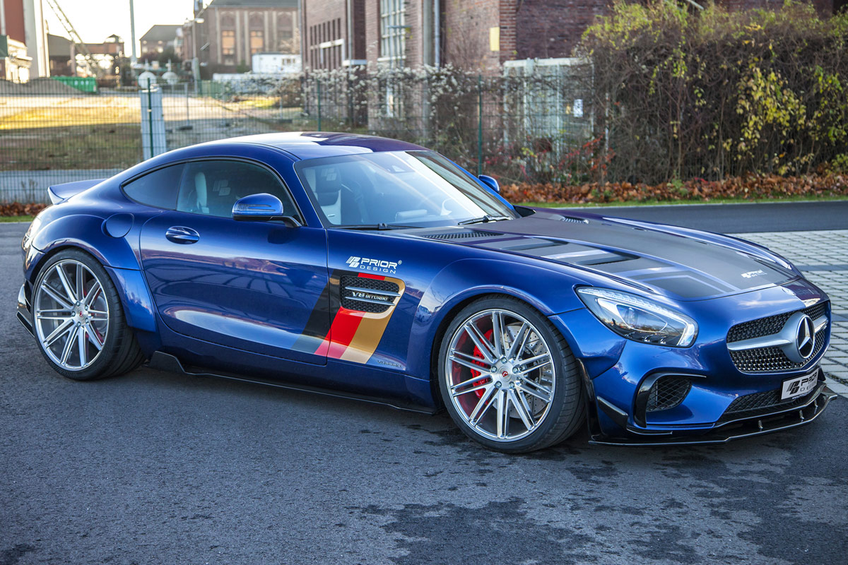 Prior Design Introduces Widebody Mercedes Amg Gt Forcegt Com