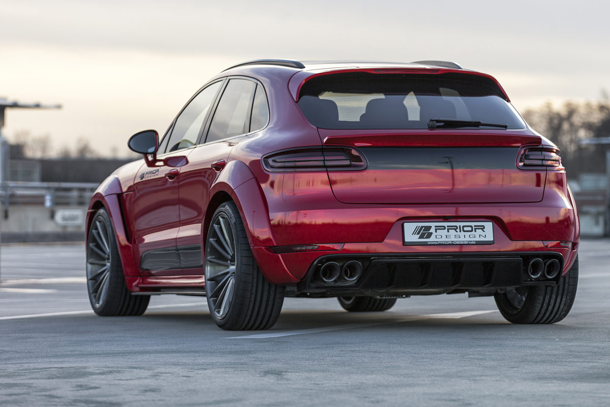 Prior Design unveils widebody Porsche Macan - ForceGT.com