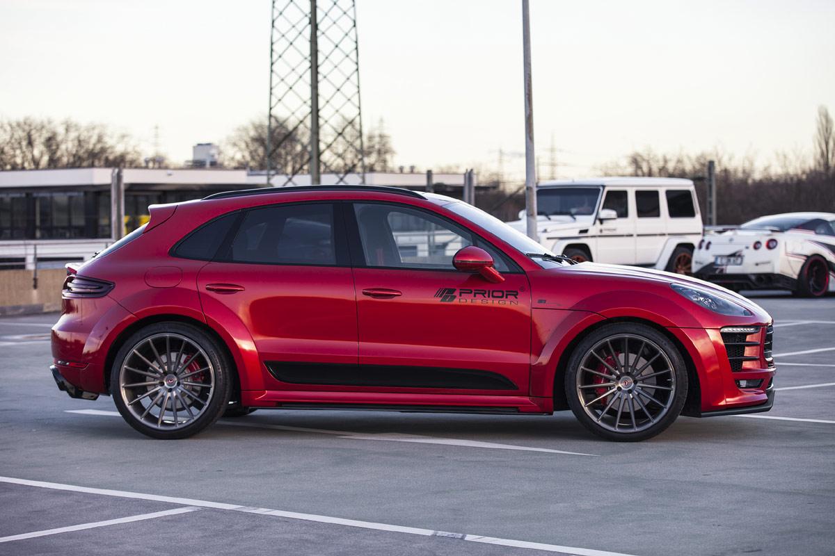 Prior Design Unveils Widebody Porsche Macan Forcegt Com