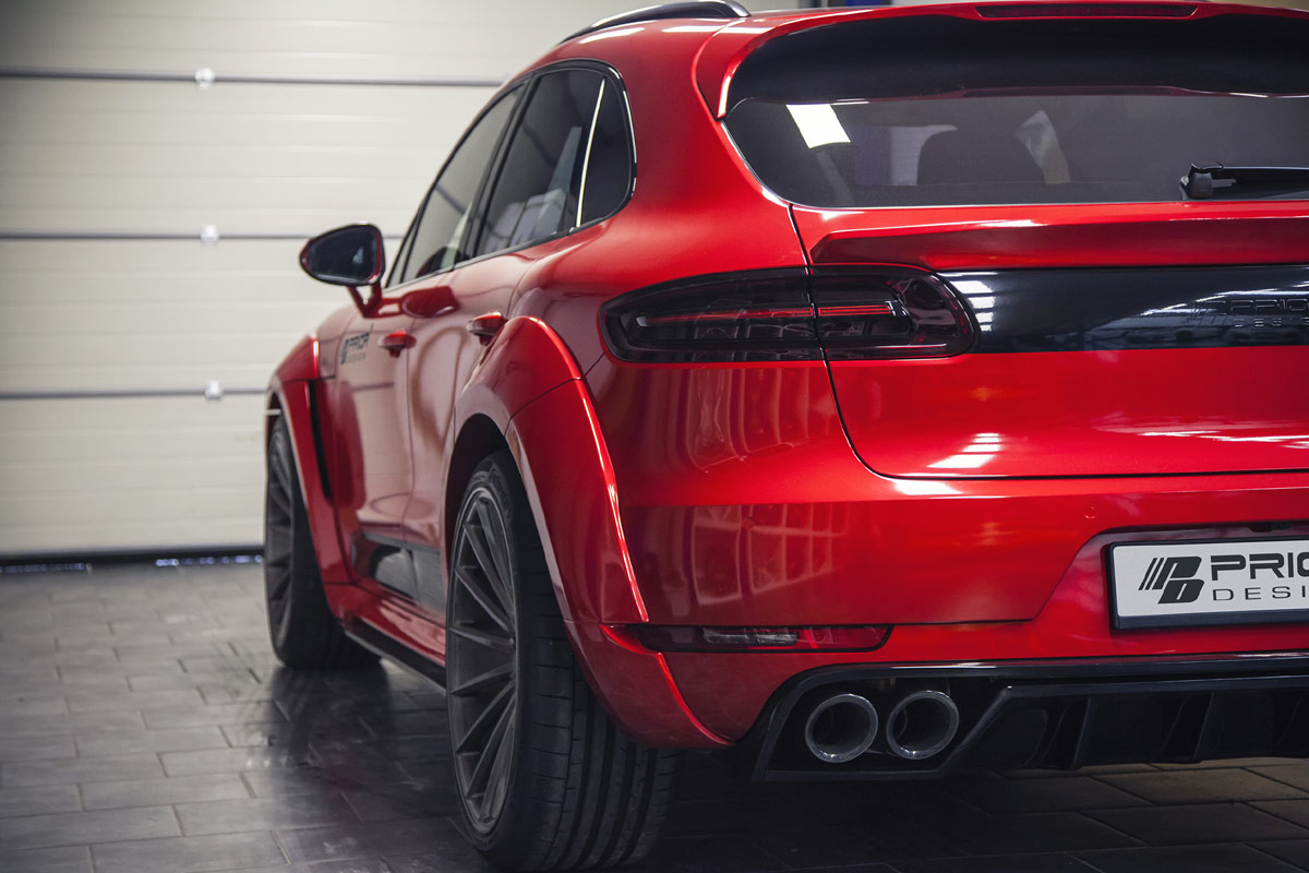 Prior Design Unveils Widebody Porsche Macan Forcegt Com