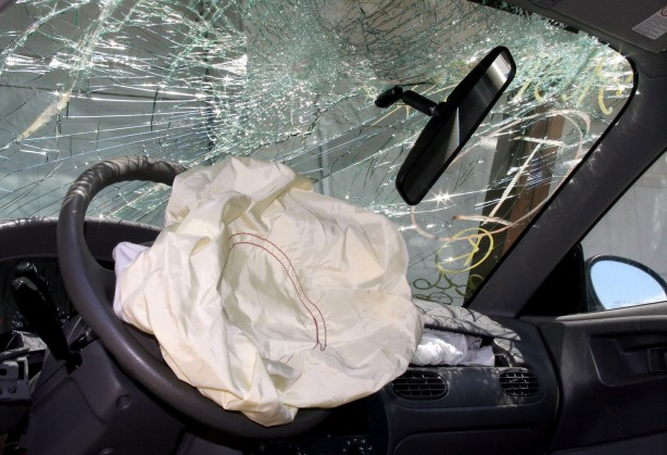 Airbag Deployed, Takata airbag faulty, injuries and death possible. Ford Ranger
