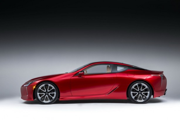 lexus-lc-production-model-side