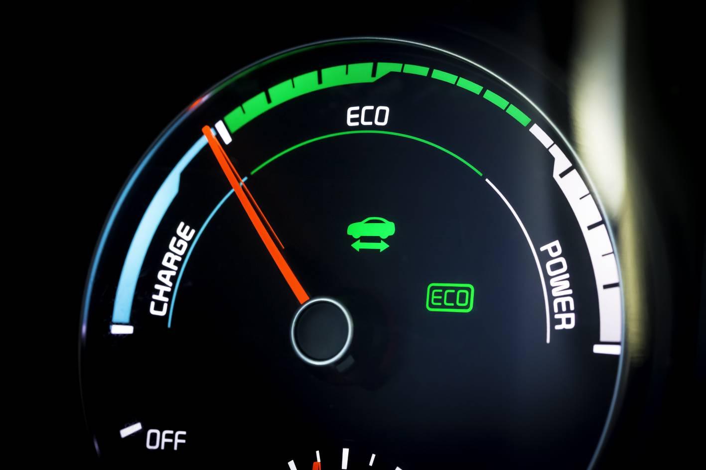 2016 Kia Optima Plug In Hybrid Gauge