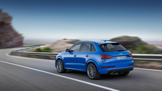 forcegt 2016 audi rs q3 performance rear quarter