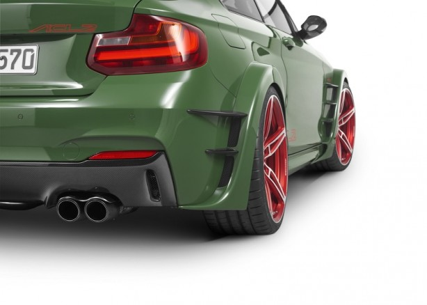 forcegt ac schnitzer acl2 rear quarter