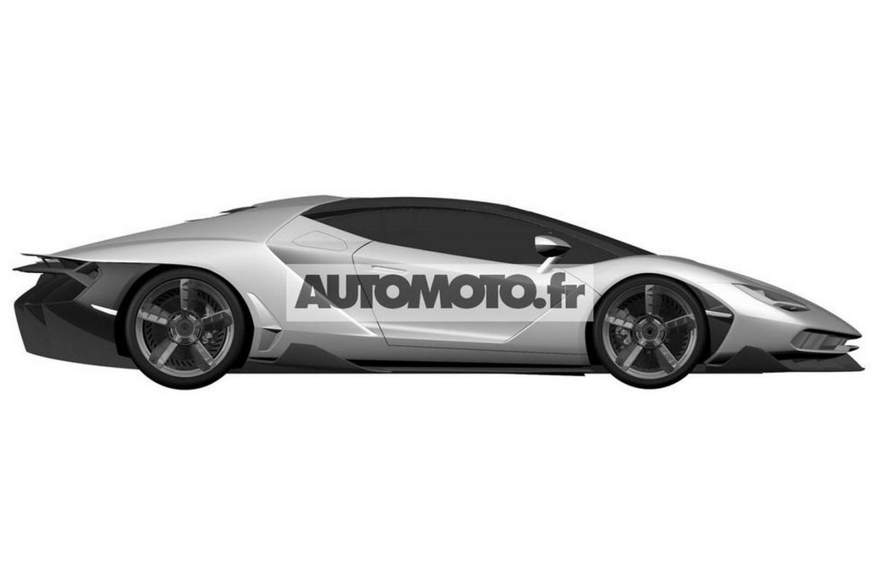 Lamborghini Centenario Patent Images Leaked Ahead Of Debut