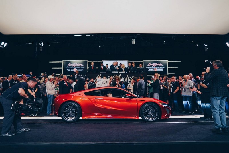 Hendrick Hyundai North >> Honda NSX goes for a cool $1.2m at auction in the US