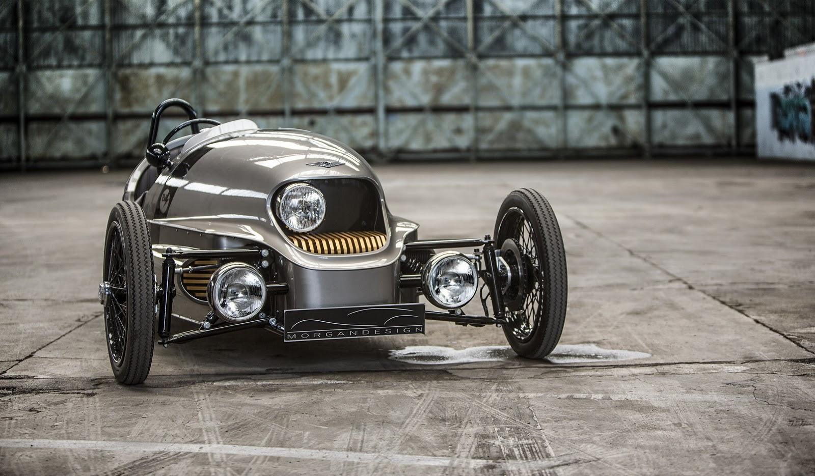 Morgan Cars - News: The EV3, Morgans all-electric 3 wheeler
